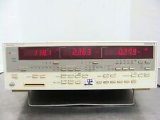 Yokogawa 2532 Digital Potencia Metros/Precisión Analizador 253221-A-0/D / Frq