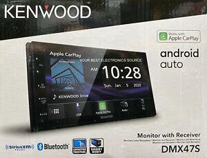 "NEW Kenwood DMX47S 2-DIN Digital Media Stereo, 6.8"" LCD, Android Auto, CarPlay"