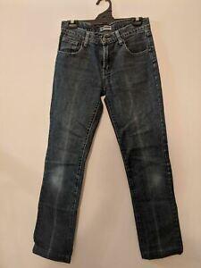 Lee Women's Jeans Size 10 Low Rise Blue Denim Supersleek