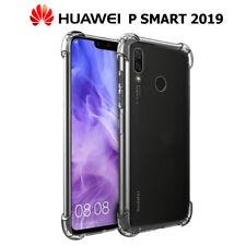Funda Gel TPU Transparente Antigolpes para Huawei P Smart 2019