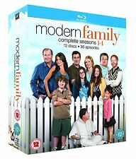Modern Family Complete Collection 1-4 Blu Ray Box Set All Seasons 1 2 3 4 UK R2
