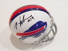 Mike Williams Signed Mini Helmet w/COA Buffalo Bills Football