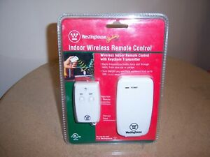 Westinghouse Outlet Indoor One Outlet Wireless Remote Control W/Keychain 28068