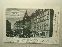 Ansichtskarte Wien Hoher Markt Vollmondkarte vor 1900