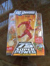 """DC UNIVERSE 75 YEARS SUPER POWERS """"THE FLASH"""" FIGURE (TOYS-R-US EXCLUSIVE)! MIP!"""