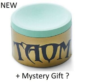 """Taom """"Soft"""" Gold Cue Chalk + Free Mystery Gift ? UK Stock"""