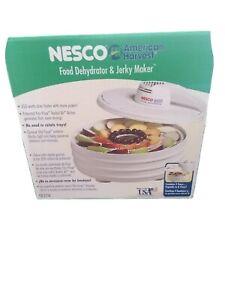 Nesco FD-60 Snackmaster Express Food Dehydrator. Never used, open box