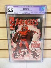 Avengers #57 CGC Restored 5.5 Marvel Comics 1968 1st Appearance of Vision
