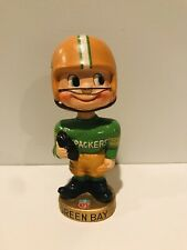 Vintage 1960s Green Bay Packers Toes Up Type 2 Nodder Bobblehead Gem Mint