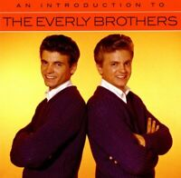 THE EVERLY BROTHERS - AN INTRODUCTION TO   CD NEW