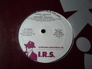 "HOWARD DEVOTO...RAINY SEASON...USA PROMO DJ EDIT 12"" RECORD POP DANCE ROCK"