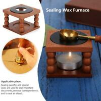 Retro Fire Wax Seal Stamp Metal Wax Stick Sealing Wax Furnace Stove Pot Parts