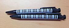 Pencil - Mechanical Push Top (Set of 2)  Musicians Gift Music Keyboard Design