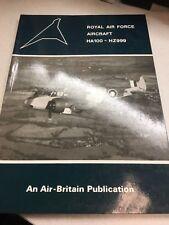 ROYAL AIR FORCE AIRCRAFT HA100 HZ999 BOOK AIR BRITAIN PUBLICATION 085130172X