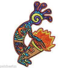 Aborigine Rasta Reggae Drum Tom-Tom Jovial Hippie Peace Iron on Patches #1464