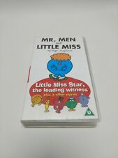 Mr Men And Little Miss VHS Video Tape