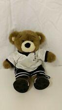 Build A Bear 17� Brown Soccer Bear Plush Stuffed Animal Doll Sports Retired