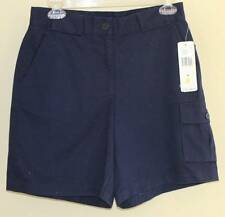 NEW Ralph Lauren Navy Blue Classic Cotton Pocketed French Navy Twill Shorts Sz 4