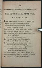 ROBBE DE BEAUVESET - ŒUVRES BADINES - LONDRES 1801 - CURIOSA EROTICA Poésie