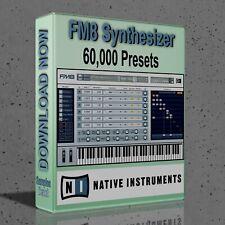 60,000 NI FM8 Presets Pack - Ableton Live, Cubase, Logic Pro, FL Studio, Bitwig