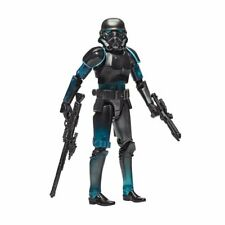 6 Inch Shadow Stormtrooper Figure Force Unleashed Black Series Star Wars ..LOOSE