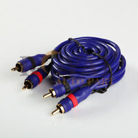 High Performance 6ft RCA 2 Male to Male Audio Cable