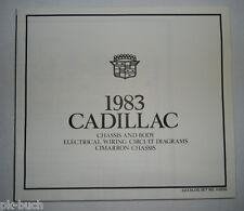 Elektrischer Schaltplan / Wiring Diagram Cadillac Cimarron Modelljahr 83 Chassis