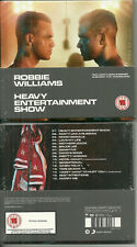 CD + DVD - ROBBIE WILLIAMS : HEAVY ENTERTAINMENT / NEUF EMBALLE - NEW & SEALED