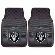 Oakland Raiders 2-Piece Heavy Duty Vinyl Auto Floor Mats