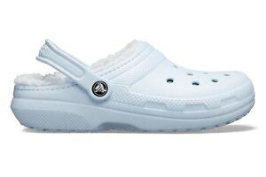 Crocs Classic Lined Clog - Mineral Blue/Mineral Blue