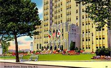 Vintage Color Linen Postcard - Medical Center, Jersey City, N.J.