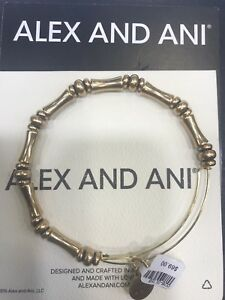 Alex and Ani recycled metal bangle