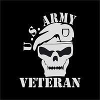 US Army Veteran Vinyl Decal Sticker Window Wall Car