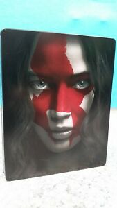 THE HUNGER GAMES & MOCKINGJAY PART 1 BLU-RAY STEELBOOK EDITION