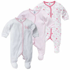 NWT Target Baby Girls Butterflies Romper Coverall x 3 Size 0000 000 00