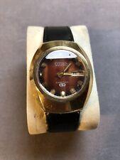 Orologio Elettromeccanico Citizen cosmotron electronic 7803 watch vintage