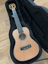 RRP £190 Concert Acoustic Model Ukulele, Maple w/ Solid Cedar Top Abalone Inlays