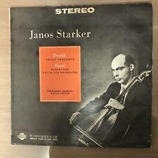 JANOS STARKER Dvorak and Faure - Cello Concerto / Elegie Korea LP Vinyl