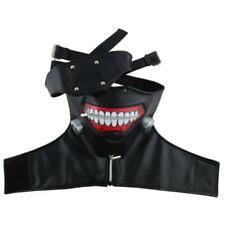Tokyo Ghoul Cosplay Costumes Halloween Cos Black Eye Hlaf Face Mas Anime Cosplay