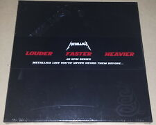 METALLICA BLACK ALBUM 45RPM 4LP DELUXE BOX UNIVERSAL OOP RARE