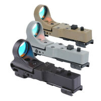 Collimator Sight Railway Reflex C-MORE Adjustable Tactical Hunting Red Dot Sight