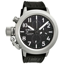 U-Boat Classico 50 Black Dial Chronograph Mens Automatic Watch 5286