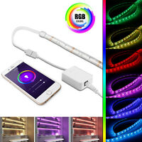16.4ft Smart WiFi RGB LED Light Strip Lamp APP Remote Control Alexa Google Home