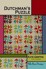 Dutchman's Puzzle pattern card by Villa Rosa Designs  - Layer Cake Friendly