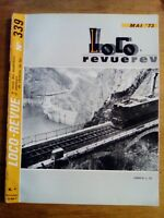 LOCO REVUE N°339 - 1973