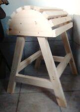 Sattelbock aus Massiv-Fichtenholz für Westernsättel und andere