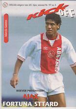 Programma / Programme Ajax Amsterdam v Fortuna Sittard 12-11-1996