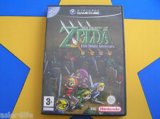 THE LEGEND OF ZELDA FOUR SWORDS ADVENTURE - GAMECUBE - Wii Compatible
