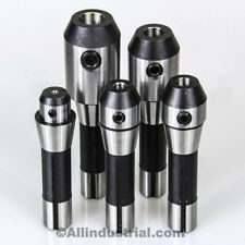 "5 PC R8 END MILL HOLDER SET 1/4"" 3/8"" 1/2"" 3/4"" & 1"" ADAPTER FOR BRIDGEPORT KIT"
