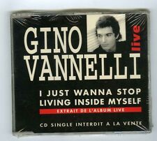2 TRACK PROMO MAXI CD SINGLE (NEW)GINO VANNELLI I JUST WANNA STOP